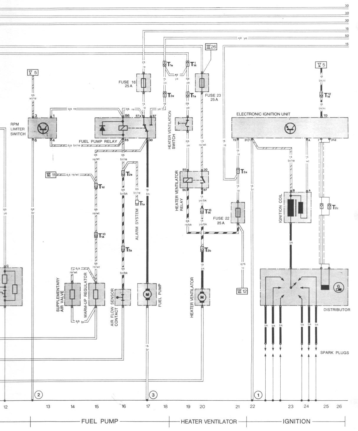 Wiring Diagram 356 Porsche