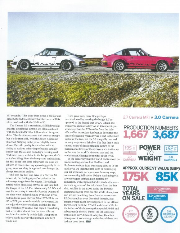 Carrera 3.0 vrs. 74-75 Euro Carrera from Total 911 magazine iss0005.jpg